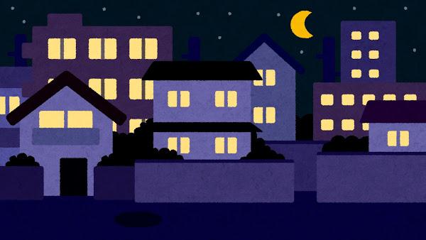 深夜にゴミ出すマンの正体wωшwωшwωшw